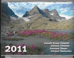 2011 MNH Greenland, Year Collection, Postfris - Komplette Jahrgänge