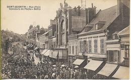 SAINT QUENTIN  Rue D'Isle Concours De Pêche - Saint Quentin
