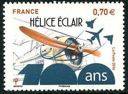 France Frankreich Francia 2016 Hélice Eclair  Propeller SPAD S-VII ( YT 5085 ) - Aerei