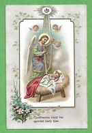Santino/holy Card: NATIVITA' - E - PR - Cromolitografia - Religion & Esotericism