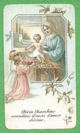 Santino/holy Card: NATIVITA' - E - RB - Cromolitografia - Religione & Esoterismo