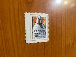 Vignette - Tanger - Croix Rouge /militaire - Rode Kruis