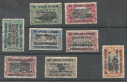 """Série 28-35B  (surch.""""Est Africain Allemand Occup. Belge"""" Sur TP Du Congo Belge)  * - 1916-22: Mint/hinged"""