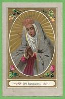Santino/holy Card: B.V. ADDOLORATA - E - PR - Religion & Esotericism