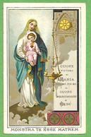 Santino/holy Card: N.S. DEL SACRO CUORE DI GESU' - E - PR - Cromolitografia - Religion & Esotericism