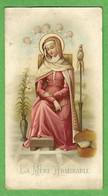 Santino/holy Card: LA MERE ADMIRABLE - E - PR (francese) - Cromolitografia - Religion & Esotericism