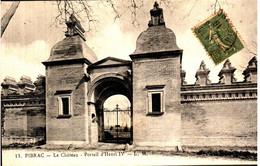 PIBRAC - Le Château -Portail D'Henri IV - Pibrac