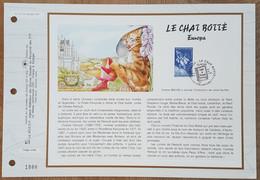 FDC - CEF N°1317 - YT N°3058 - EUROPA / LE CHAT BOTTE - 1997 - 1990-1999