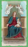 Santino/holy Card: MADONNA DELL'AIUTO - Milano - E - PR - Cromolitografia - Religion & Esotericism