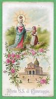 Santino/holy Card: MARIA SS. DI CARAVAGGIO - E - PR - Cromolitografia Liberty - Religion & Esotericism