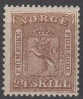 NORVEGIA - Norge - Norwegen - Norway - 1863/66 - 24 Skill - Yvert 10 - New - MNH - Ungebraucht