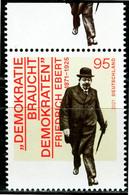 BRD - Mi 3589 Oberrand ✶✶ (N) - 95C  Friedrich Ebert, Ausg.: 4.02.2021 - Unused Stamps