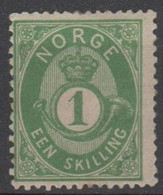 NORVEGIA - Norge - Norwegen - Norway - 1872/75 - 1 Sk - New - MNH - Ungebraucht