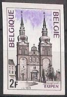 D - [853370]TB//ND/Imperf-c:13e-Belgique 1973 - N° 1685, ND/Imperf, Eupen, Eglises Et Cathédrale, Vacances & Tourisme - Unused Stamps