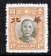 Japanese Occupation  NORTH CHINA    8 N 80  * - 1941-45 Northern China