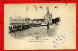 * Exposition Lille 1902 - Water Chute ( Une Chute ) - 1902 - Lille