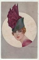 Illustrateurs Signés  // T.Corbella // Femme Avec Chapeau - Corbella, T.