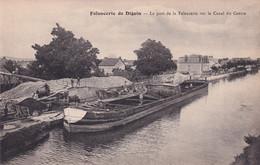 "DIGOIN "" Le Port De La Faiencerie , RARE ""       N°9283 - Digoin"