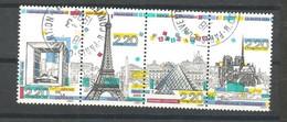 2579/82   Se Tenant   Beaux Cachets Et2583  Beau Cachet  PARIS           (clasfdcroug) - Non Classés