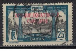 GABON         N°  YVERT  :   96    OBLITERE       ( Ob   9 / 50 ) - Oblitérés