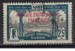 GABON         N°  YVERT  :   96 ( 1 )   OBLITERE       ( Ob   9 / 50 ) - Oblitérés