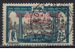 GABON         N°  YVERT  :   96 ( 2 )   OBLITERE       ( Ob   9 / 50 ) - Oblitérés