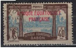 GABON         N°  YVERT  :   100  ( 1 )  OBLITERE       ( Ob   9 / 50 ) - Oblitérés