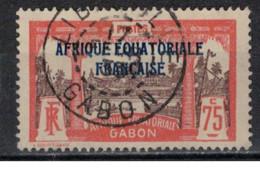 GABON         N°  YVERT  :   104   OBLITERE       ( Ob   9 / 50 ) - Oblitérés