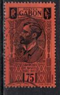 GABON         N°  YVERT  :   138 ( 3 )   OBLITERE       ( Ob   9 / 51 ) - Oblitérés
