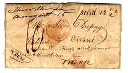 43396 - D'IBERVILLE Pour La France - …-1845 Vorphilatelie