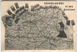 51am 1601 CPA - PERROS GUIREC ET SES ENVIRONS - Perros-Guirec