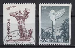 Suède - Schweden - Sweden 1974 Y&T N°831 à 832 - Michel N°852 à 853 (o) - EUROPA - Used Stamps