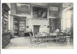Dreux - L'Hôtel De Ville - La Salle Du 2e étage - Bibliothèque - édit. J. Lefebvre 30 + Verso - Dreux