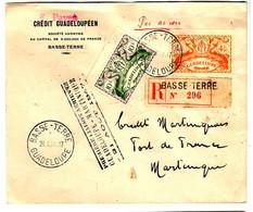 43412 - Vol GUADELOUPE  MARTINIQUE - Poste Aérienne