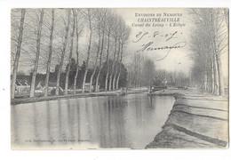 Environs De Nemours - Chaintréauville - Canal Du Loing - L'Ecluse - édit. Duvoigneau  + Verso - Andere Gemeenten