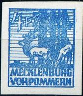 """Deutschland 1945 SBZ DDR Michel-# 30x """" Spitzenwert Im Abschiedssatz Mecklenburg-V. """" Michel ~20 € Falzspur - Zone Soviétique"""