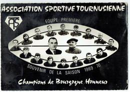 Tournus - Association Sportive Tournusienne - Souvenir Saison 1969-70 Equipe Première Champions Bourgogne Honneur Rugby - Ohne Zuordnung