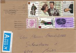 Briefstück König Königin Kartoffel-Händler - Tracht Korb Korbflechten - Rubens-Jahr - Cartas