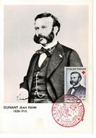 CM FRANCE CROIX ROUGE 1958  JH DUNANT - 1950-59