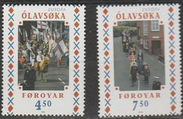 Feroe Europa 1998 N° 334/ 335 ** Festivals Nationaux - 1998