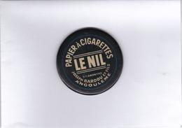 Petit Miroir Publicitaire - Papier à Cigarette LE NIL - Bardou Angoulême. - Advertising Items