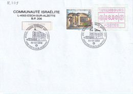 Luxembourg 1999 - Esch-sur-Alzette Synagogue (8.239) - Covers & Documents