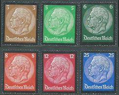 1934 GERMANIA TERZO REICH MORTE PRESIDENTE HINDENBURG MNH ** - UR33-3 - Nuovi