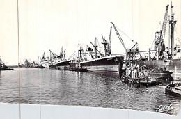 """Cpsm Le Havre """"Domfront"""" C.G.T Compagnie Générale Transatlantique Liberty USA Richemond 1965 """" St Lys """" Monaco - Cargos"""
