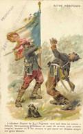 Militaria Patriotique ACTES HEROIQUES  L'Adjudant Dupont De X ..  PerpignanRV Cachet Depot De Convalescents 15 Nov 1915 - Patrióticos