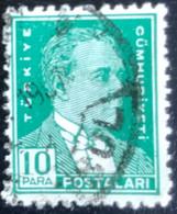 Türkiye - Turkije -  T2/13 - (°)used - 1931 - Michel 945 - Atatürk - Gebraucht