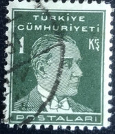 Türkiye - Turkije -  T2/13 - (°)used - 1931 - Michel 947x - Atatürk - Gebraucht