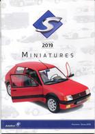 Catalogue Miniatures Solido 2019 - Voitures Miniatures - Non Classificati