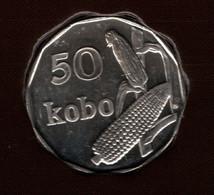 NIGERIA 50 KOBO 2006 KM# 13.3 Maïs - Nigeria