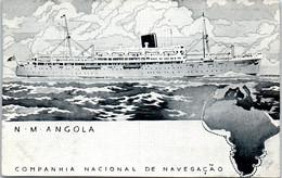 BATEAU PAQUEBOT LE ANGOLA Carte Postale Ancienne /REF -VP9226 - Piroscafi